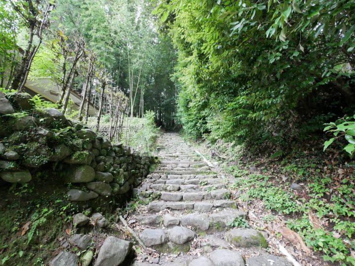 熊野古道の祈りの道