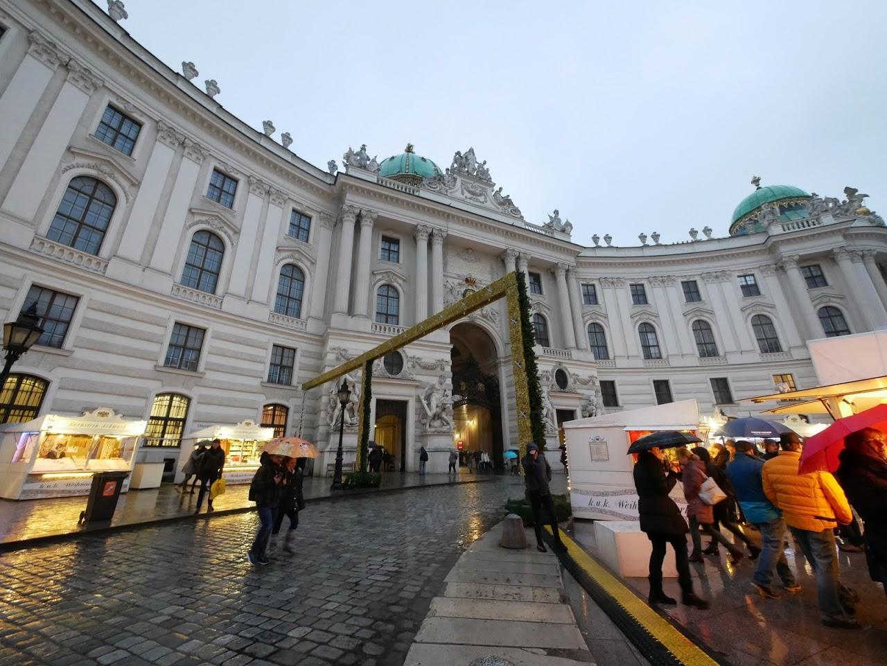 ハプスブルク家の歴代当主が暮らしていた旧王宮