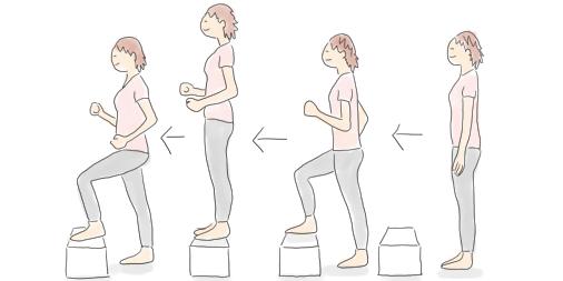 自宅でできる有酸素運動「階段昇降」