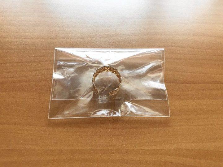 メルカリ指輪の梱包方法