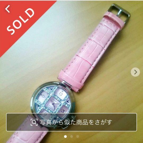 メルカリで販売できた物 電池切れの腕時計